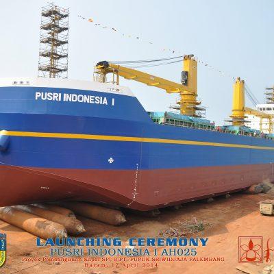 Self – Propelled Urea Barge