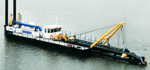 Cutter Suction Dredging 500