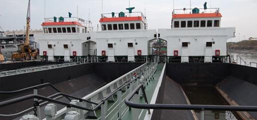 Split Barges 500 M3
