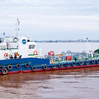 AKRA 70 – 400KL SELF PROPELLED OIL BARGE