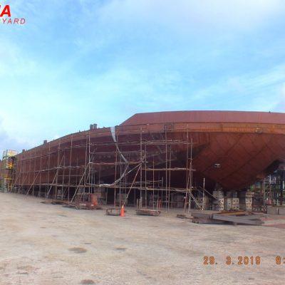 ±10700 DWT – Deck Cargo Barge – BKI Class