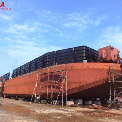 ±7500 DWT – Deck Cargo Barge – BKI Class