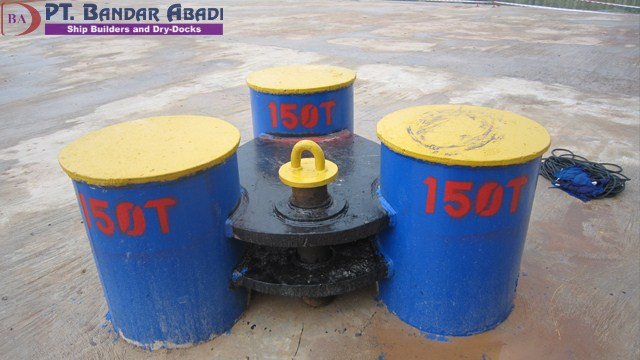 Bollard Pull 150 Ton With Digital Loadcell