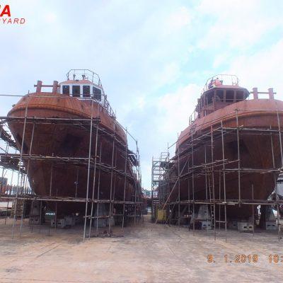 TB 29 M – 2 x 1100 HP – NK class