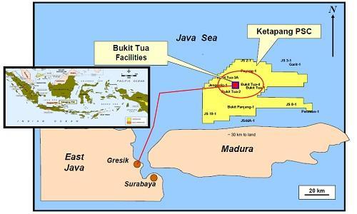 Les projets Bukit Tua Phase 2B et Phase 3 de Petronas Carigali Ketapang II Ltd