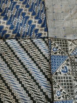 Batik Cap Indigo