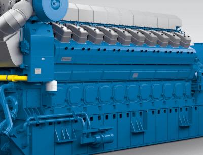 Bergen B Gas Engine