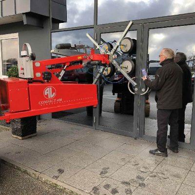 AL-COMPACT 400 vacuum lifter