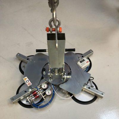 AL-GLASS 400 vacuum lifter (400 kg 4 x ø310 mm)