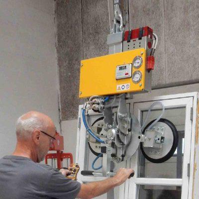 AL-GLASS in line vacuum lifter