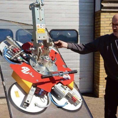 AL-GLASS series vacuum lifters
