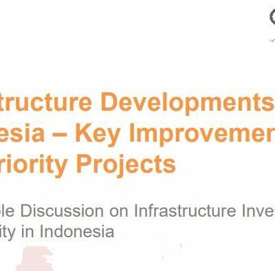Infrastructure Developments in Indonesia